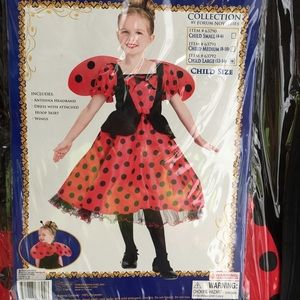 Other - Lady Bug Princess Costume, Child size Large
